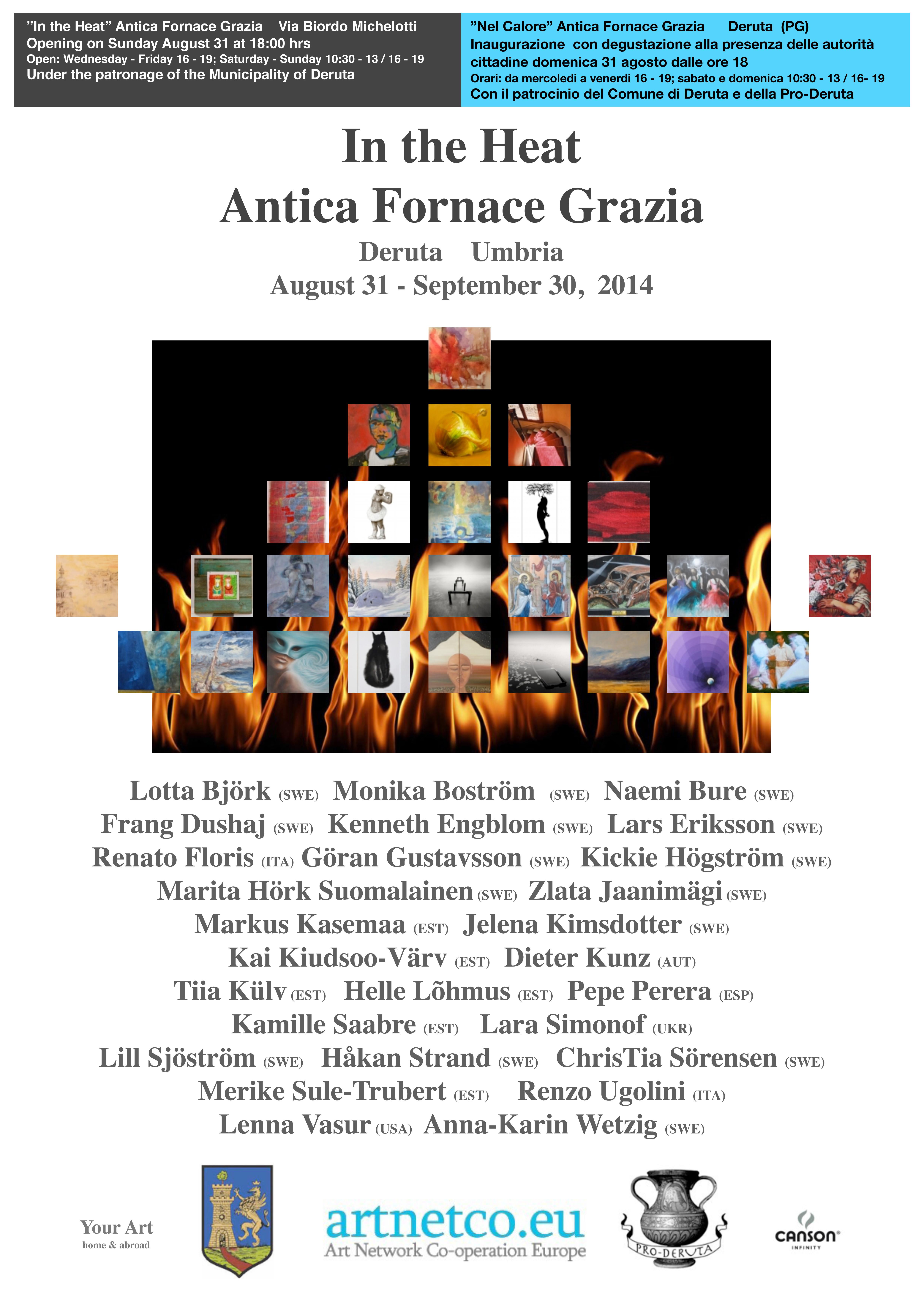 Affisch Deruta A2