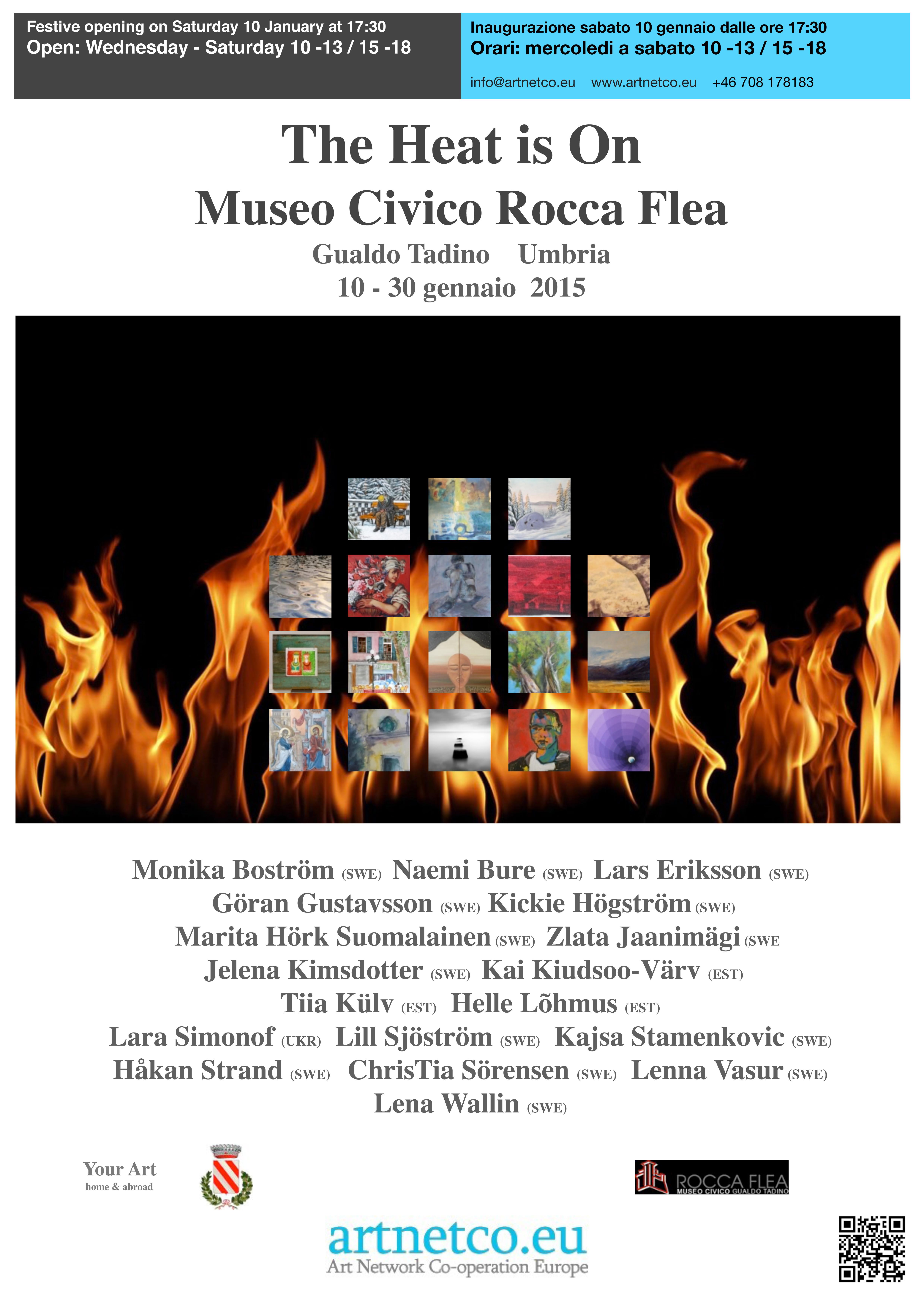 Affisch Rocca Flea A2