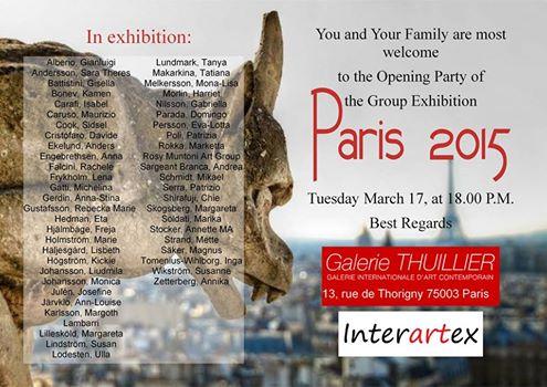 utställning Paris